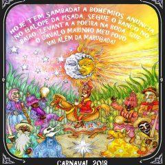 Conheça o enredo do GRESV Bohêmios Samba Club para o Carnaval 2018